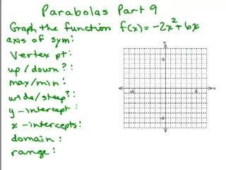 Parabolas 9 preview image