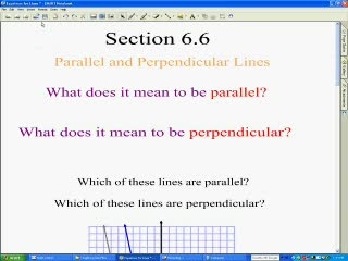Parallel / Perpendicular Lines videos