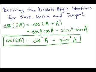 Trig Double Angle Formula preview image