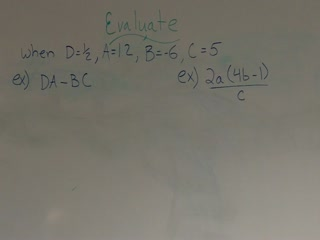 Evaluating mathematical expressions preview image