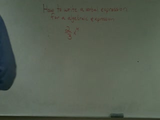 Writing Verbal Expression from Algebraic Expression preview image