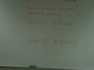 Distributive Property preview image