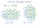 Lattice Multiplication 1 preview image