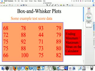 Box and Whisker preview image