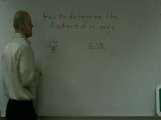 Determining the Quadrant of an Angle preview image