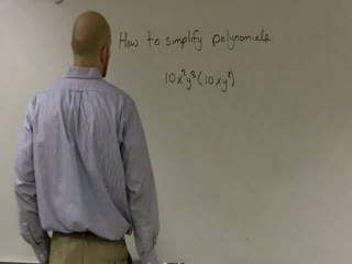 Simplifying Polynomials using Product Property of Exponents preview image