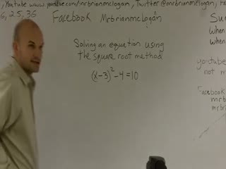 Solving by the Square Root Method preview image