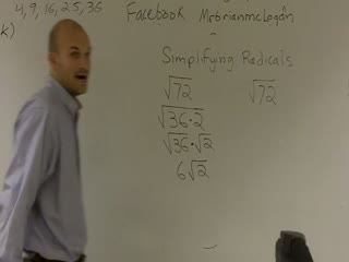 Simplifying Radicals by Factoring preview image