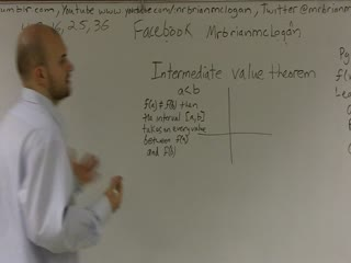 Overview of Intermediate Value Theorem preview image