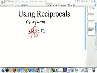 Using Reciprocals preview image