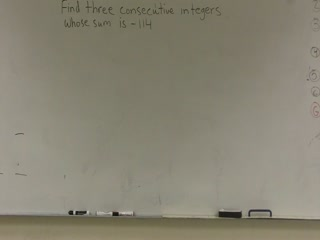 Finding Consecutive Even Integers preview image
