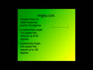 Exploring Angle Relationships preview image