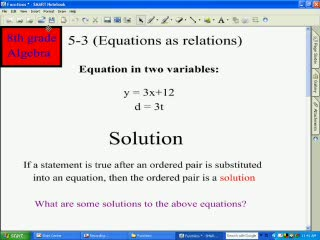 Writing Equations preview image
