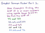 GCF of Numbers Part 2 preview image