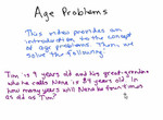 Age Problem 1 preview image