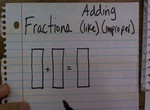 Adding Fractions with Like Denominators preview image