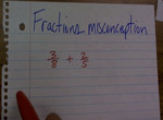 Misconception about Multiplying by Same Number to Both Fractions preview image
