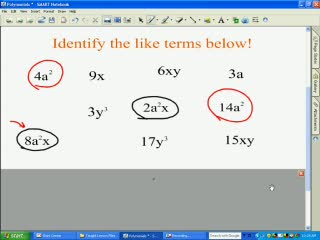 Adding and Subtracting Polynomials preview image