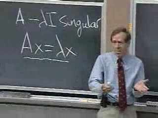 mit opencourseware linear algebra gilbert strang Glibert strang's 1806 linear algebra course at mit opencourseware is exquisite some of the course highlights are: - matrix focus (that is, more concrete and less.