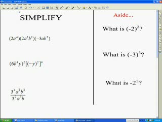 Simplifying Monomials preview image