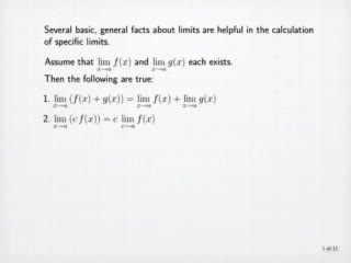 Calculation of Limits preview image