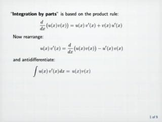 Integration by Parts preview image