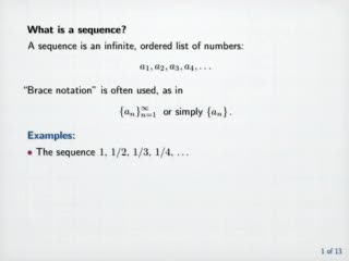 Sequences and Series videos