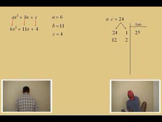 "Factoring; ""abc Method"" Part 1 preview image"
