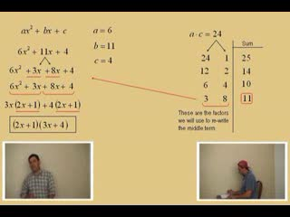 "Factoring; ""abc Method"" Part 2 preview image"
