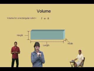 Finding Volume using rectangular prisms with an ASL Interpreter preview image
