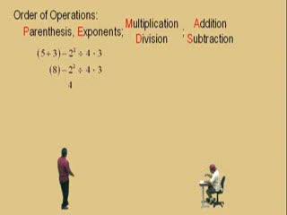 Introduction to Order of Operations Part 2 preview image