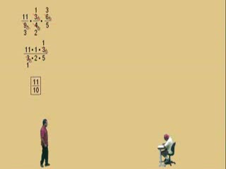 Multiplying Fractions Part 2b preview image