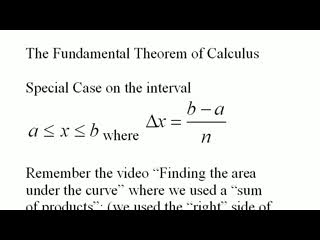 The Fundamental Theorem of Calculus Explained preview image