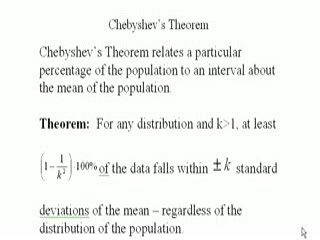 Chebychev's Theorem, Part 1 of 2 preview image
