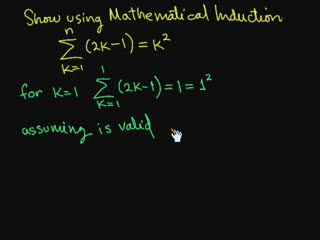 Mathematical Induction (Part 1) preview image