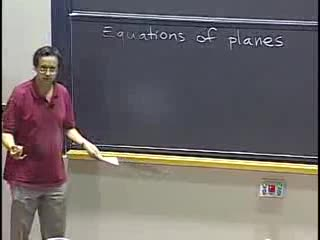 Equations of Planes videos