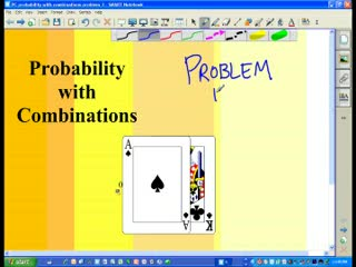 Probability with combinations part 3 preview image