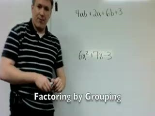 Factoring by Grouping (Part 3) preview image