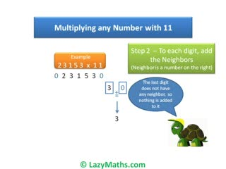 Ex 1 - Multiplying numbers with 11 preview image