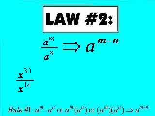 Laws of Exponents Review preview image