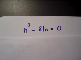 Factoring to solve equations Part 2 preview image