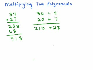 Multiplying 2 polynomials preview image