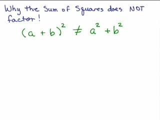 Factoring 16 Sum of 2 squares is prime preview image