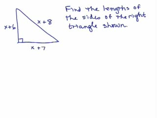word problems series of videos math help and homework help  wp5 solve triangle using pythagorean theorem preview image