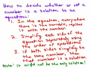 Check solutions of Equations preview image