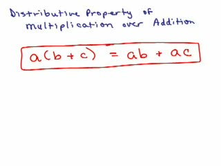 Distributive Property Part 2 preview image