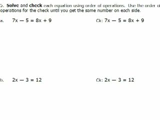 Elementary Algebra Practice Exam Solutions #5 preview image