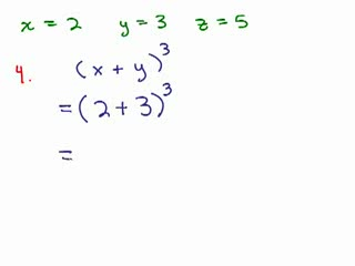 elementary algebra review series of videos math help and  elementary algebra review part 3 preview image