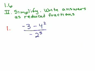 Elementary Algebra Review Part 7 preview image