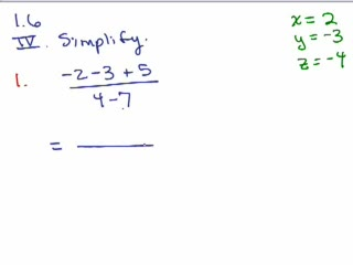 Elementary Algebra Review Part 9 preview image